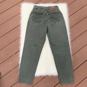 Riveted by Lee   Green Vintage Jeans